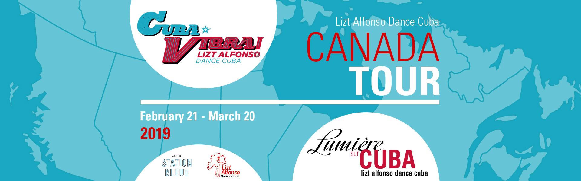 Canada tour 2019 Lizt Alfonso Dance Cuba