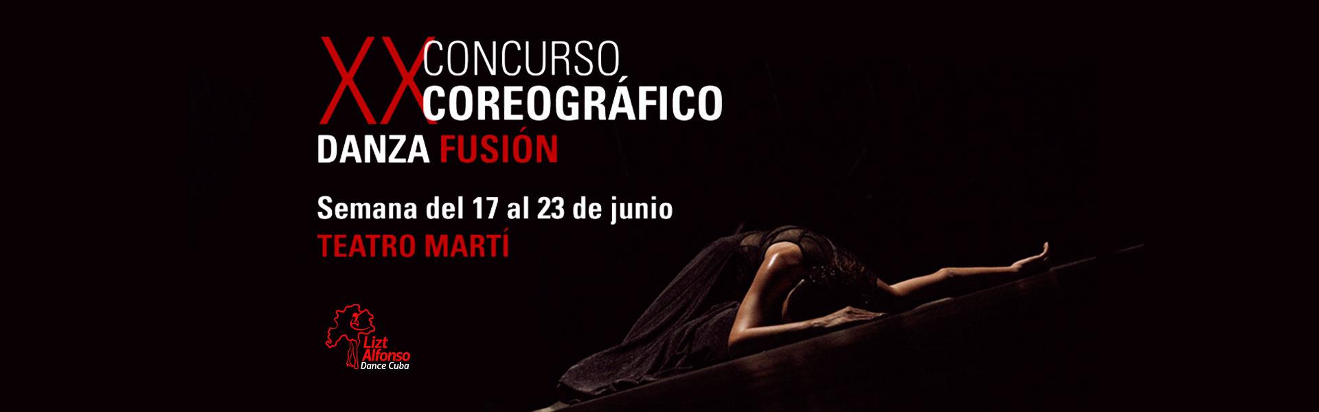 XX Concurso Coreográfico Danza fusión