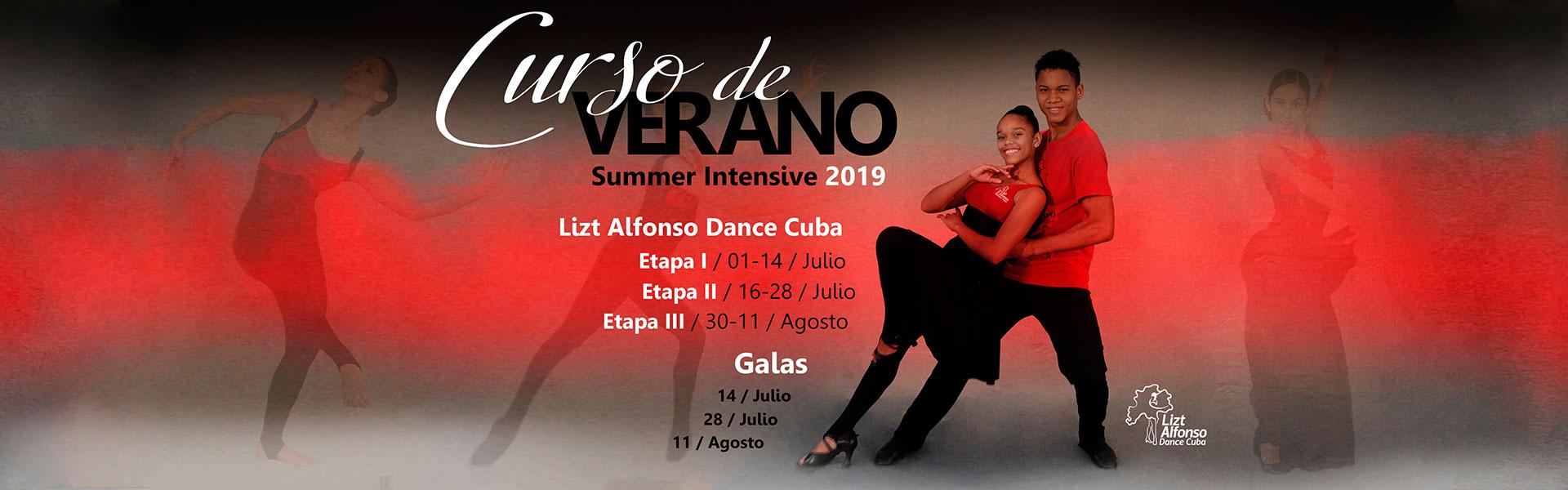 Curso de verano 2019 Lizt Alfonso Dance Cuba